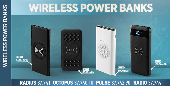 Wireless power banks