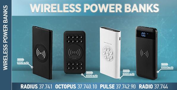 Wireless power banks