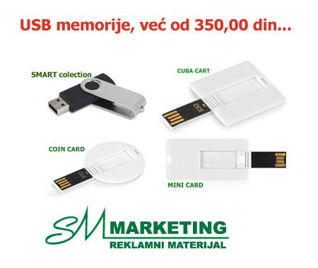 RASPRODAJA USB memorija